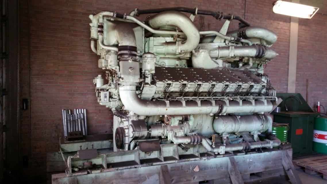 Maybach MD871 Engine
