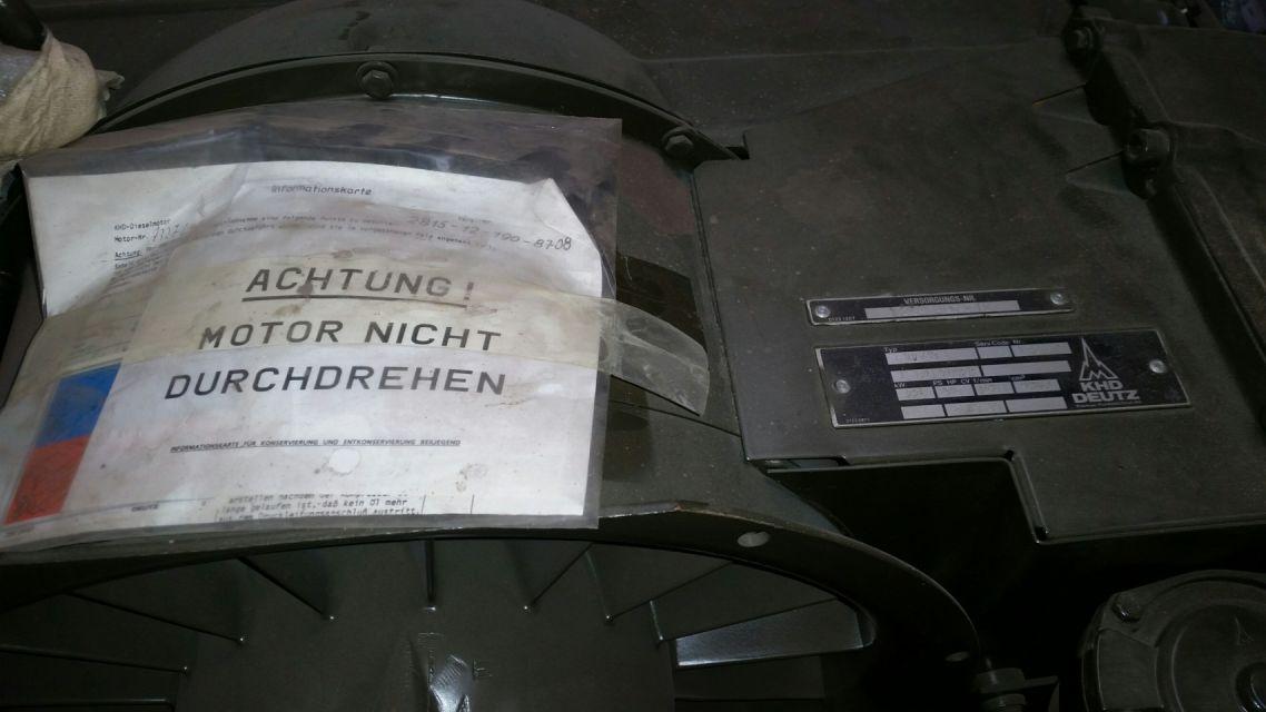 Deutz F10L419F Engine